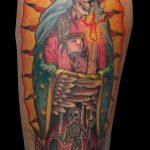 Tatuaje virgen Zaragoza